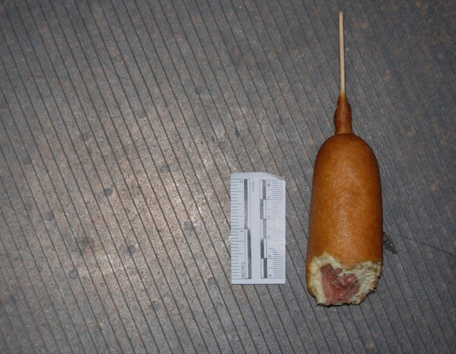 The Corn Dog in Question Source: HCSO