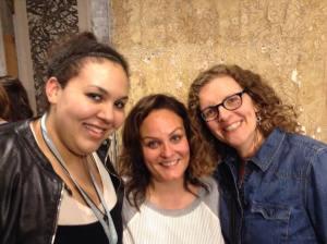 From left: Kayla Gray, Jessica Ellis Laine, & Ann Bremer