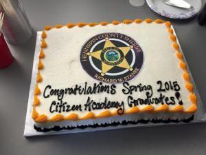 This graduation cake takes the cake Source: HCSO